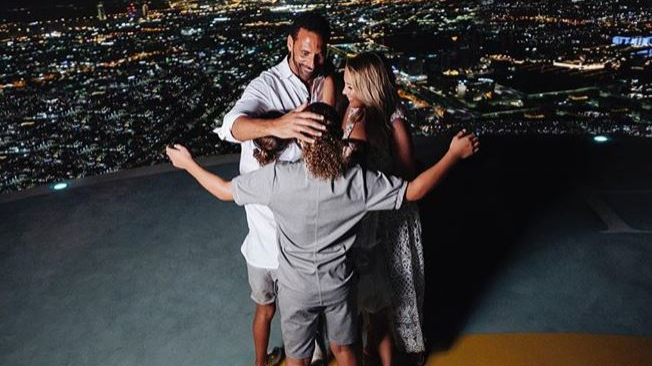 Rio Ferdinand's Son Shares Moving Message On His Dad's Engagement To Kate Wright