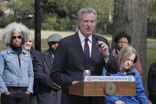 Mayor Bill de Blasio said the bill reflected the city's inclusive outlook. Credit: PA