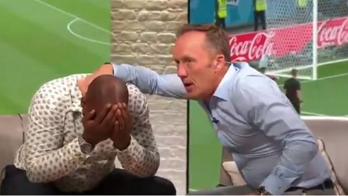 Ian Wright Reacts Like Everyone Else During The Penalty Shootout And It's Gold