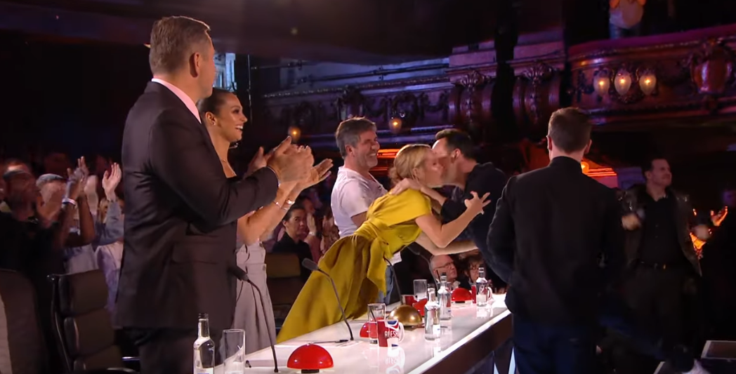 Ant and Dec used their Golden Buzzer on tonight's show. Credit: ITV