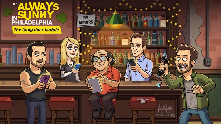 'It's Always Sunny In Philadelphia' Reveals New Mobile Game - With Cryptic Clue