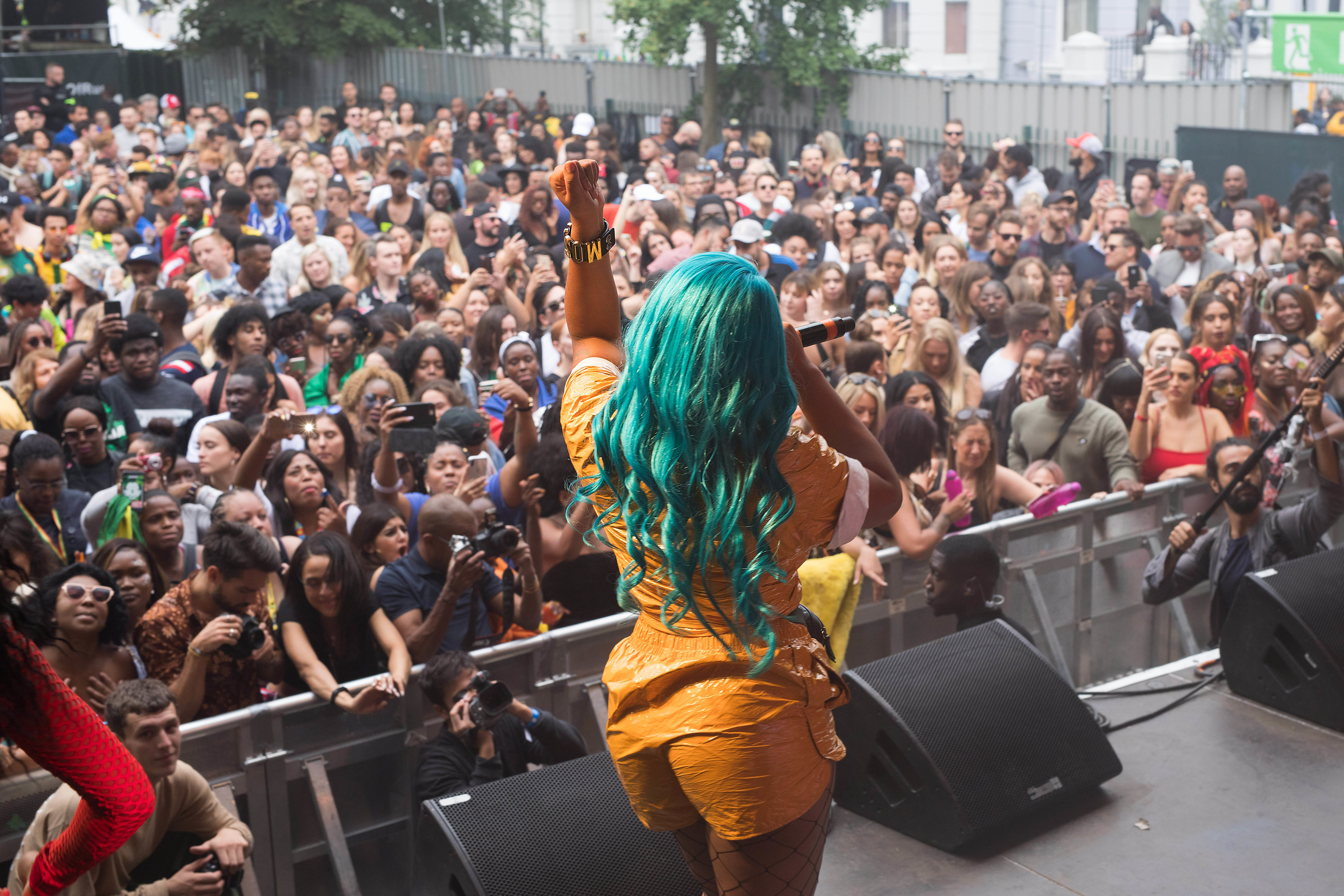 Stefflon Don Will Be Performing Alongside Cardi B At Wireless 2019. Credit: PA