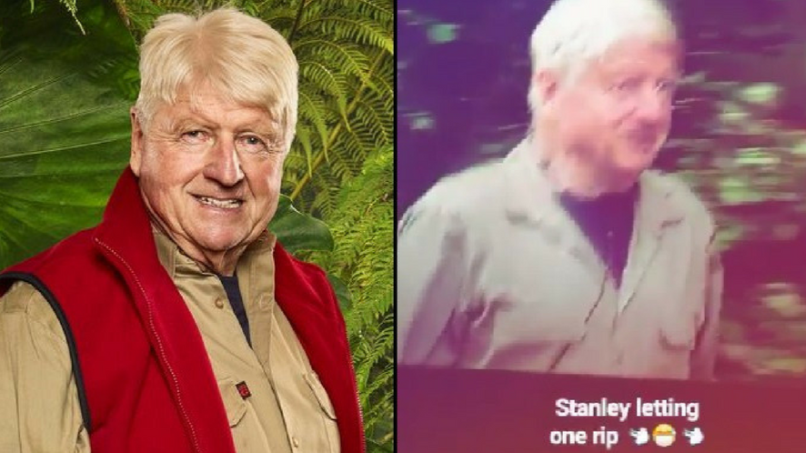 Stanley Johnson Let Out A Sneaky Fart On Tonight's I'm A Celeb And People Noticed
