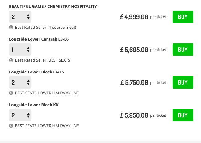 Image: Live Football Tickets