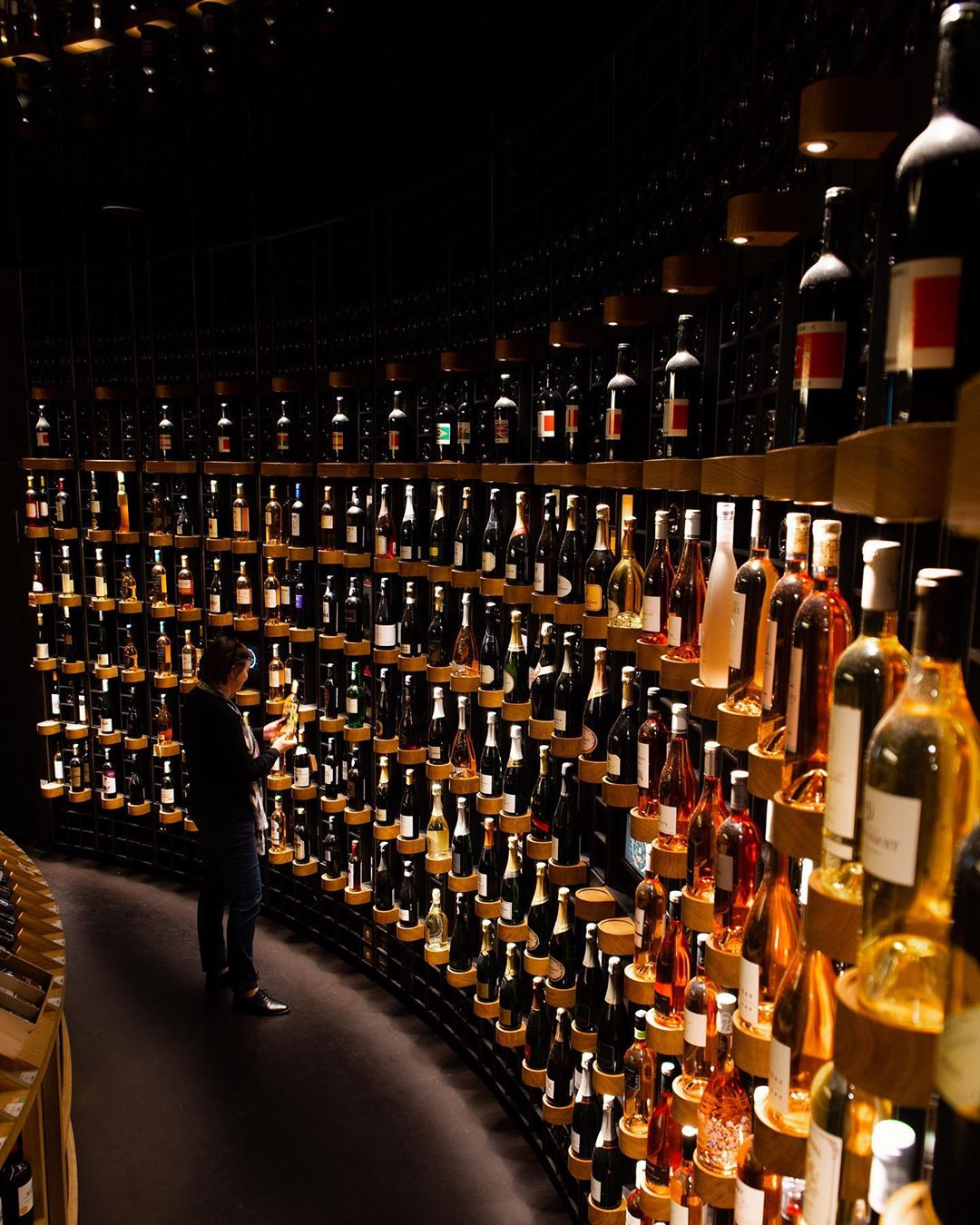 There are more than 14,000 bottle of booze to get stuck into. Credit: La Cite du Vin