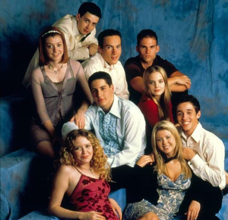 'American Pie' cast reunite to celebrate film's 20th anniversary