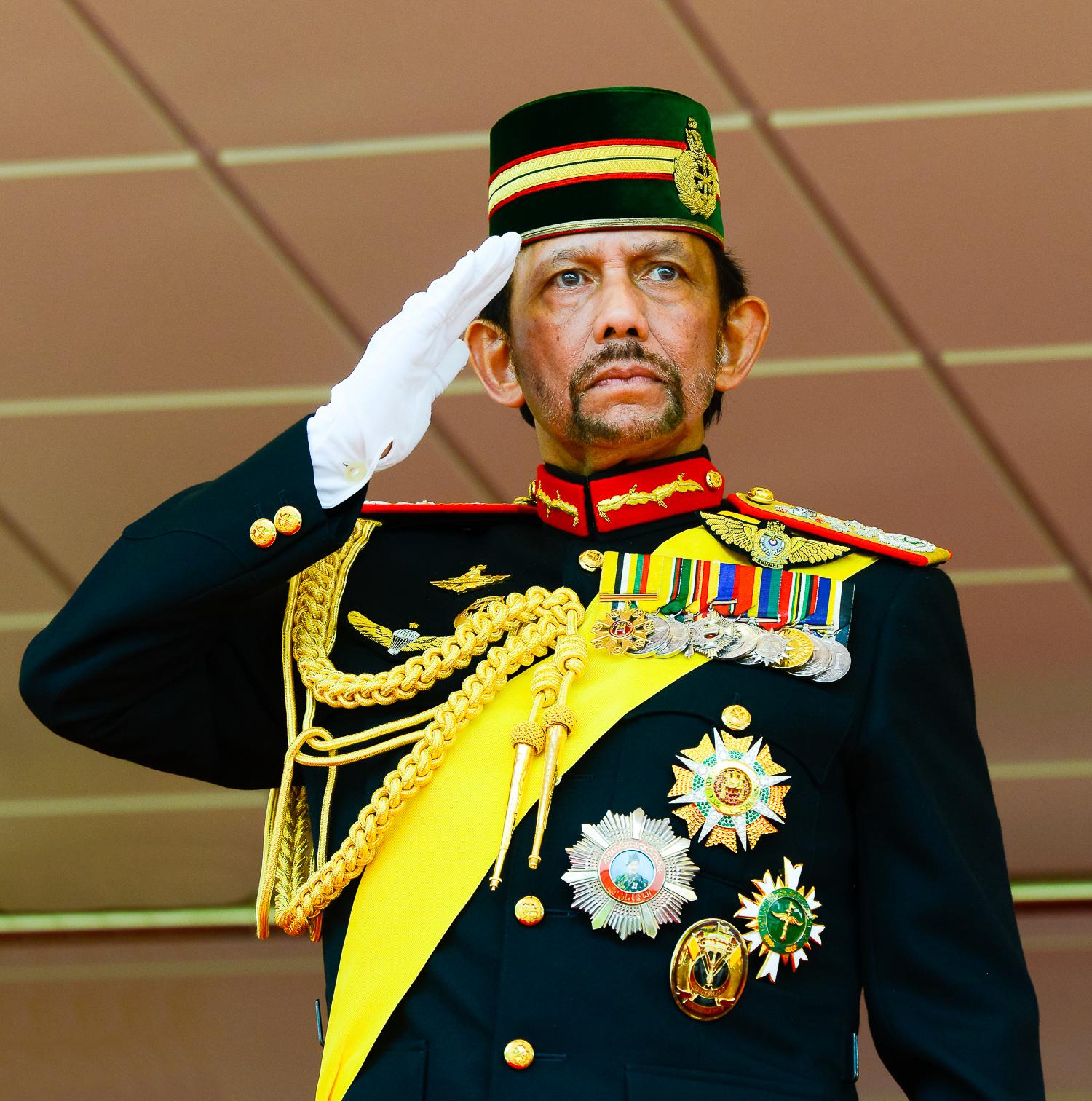 Sultan Haji Hassanal Bolkiah. Credit: PA