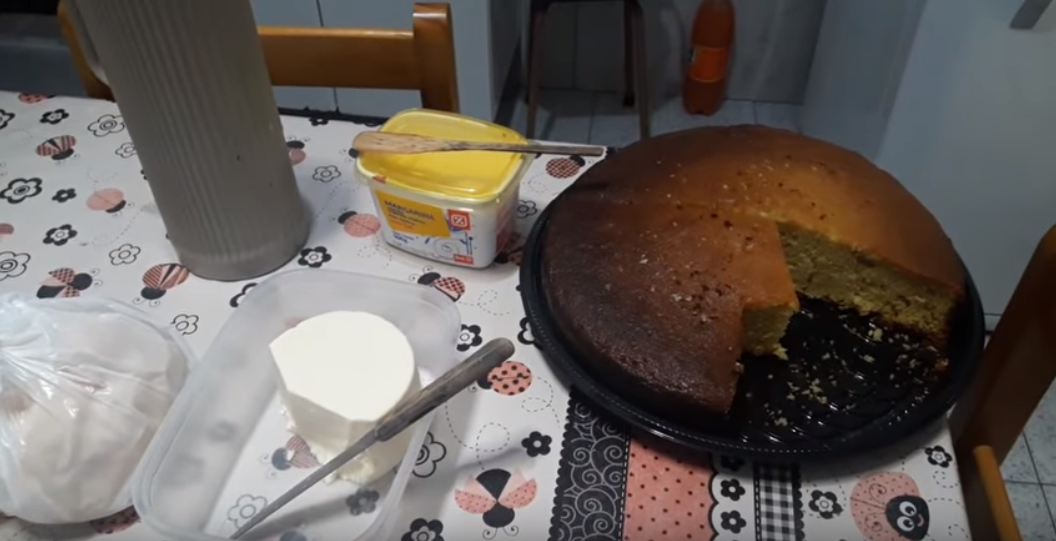 Nilson's YouTube video showing off what he had for breakfast. Credit: YouTube