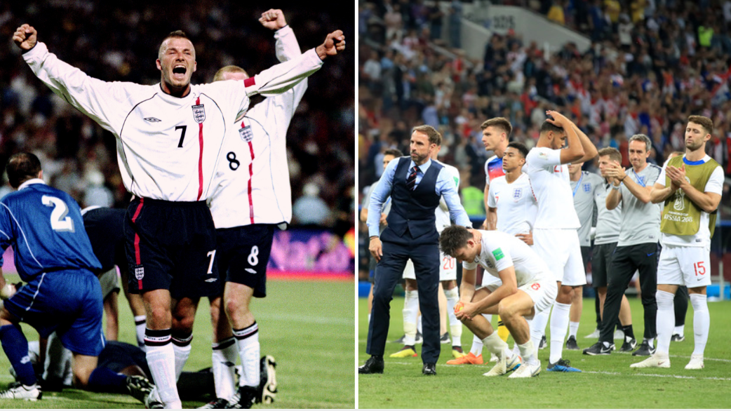 David Beckham Sums Up England's World Cup Campaign With Brilliant Instagram Post