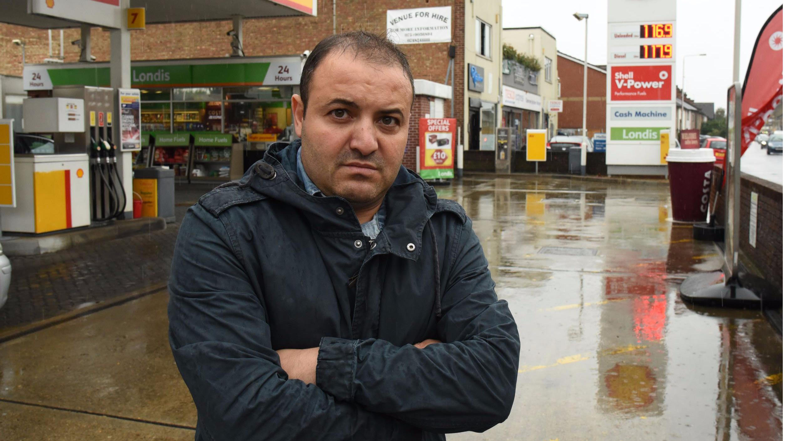Driver Outraged After Receiving Parking Ticket While Paying For Fuel