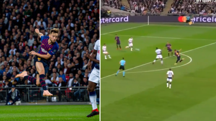 Ivan Rakitic's Champions League Wondergoal Is Even Better In Dutch Commentary