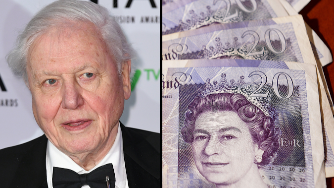 David Attenborough Tops Poll To Become Face Of The New £20 Note