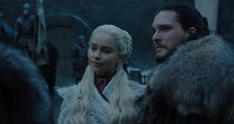 Dany, before it all went pear-shaped. Credit: HBO