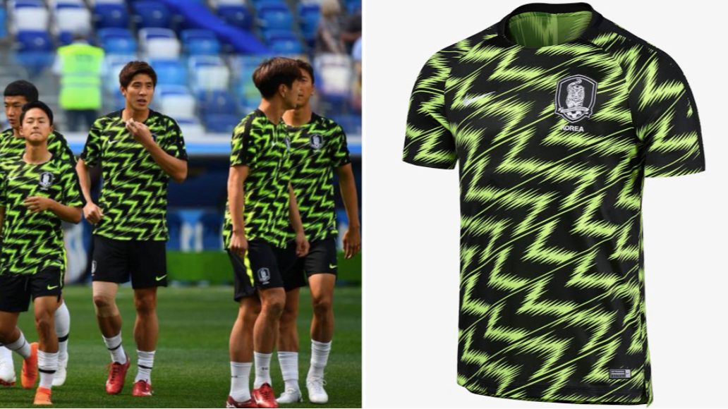 South Korea s Pre-Match Jersey Deserves A Lot More Appreciation ... 9517ce02b