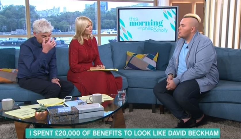 Man Who Spent £20,000 To Look Like David Beckham Quizzed On 'This Morning'