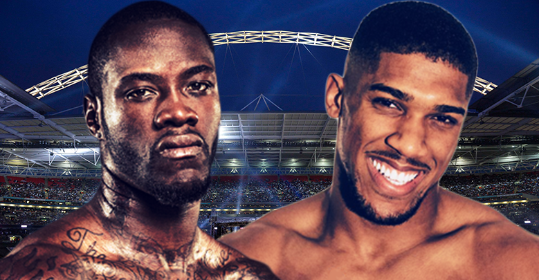 Anthony Joshua Wants To Fight Deontay Wilder At Wembley Stadium On April 13th