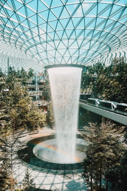 Changi Airport in Singapore was named the best in the world. Credit: Changi Airport