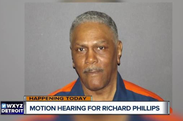Richard Phillips was exonerated in March 2018 after 45 years in prison. Credit: WXYZ