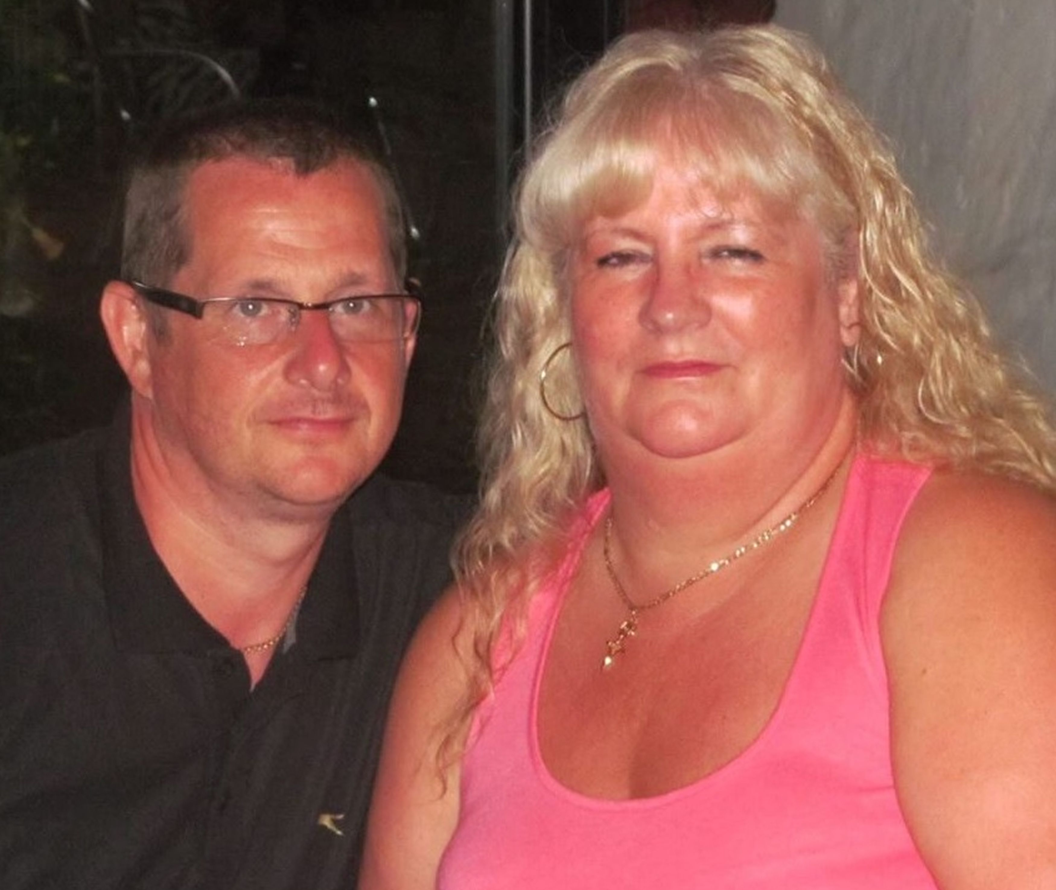 Peter McTaggart and his wife, Mary. Credit: Kennedy News and Media