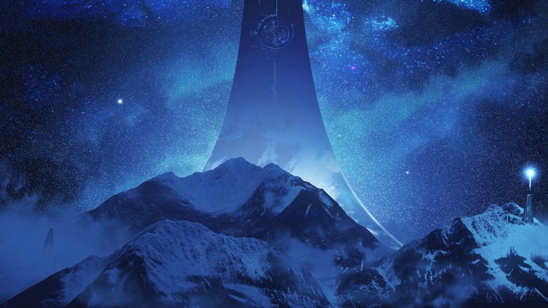 """""""光环无限""""概念艺术在343年发布的行业。信贷:微软/ 343产业"""