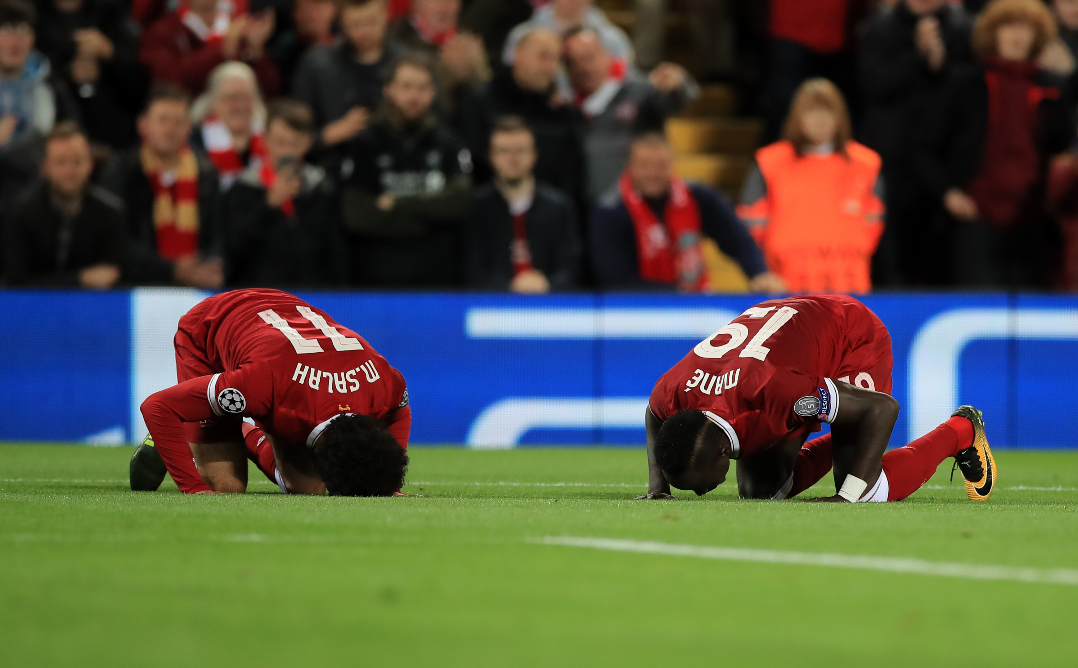 Liverpool's Sadio Mané ruled out for up to six weeks after injuring hamstring