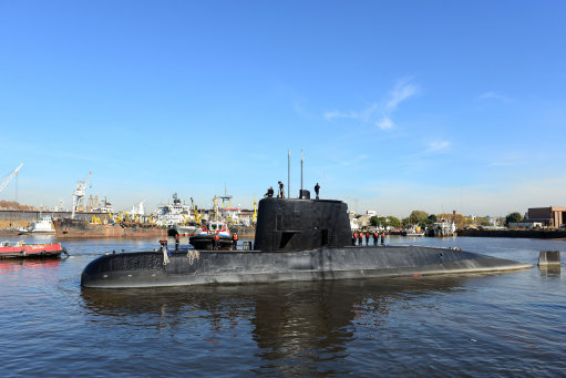 US Navy team joins hunt for missing Argentine submarine