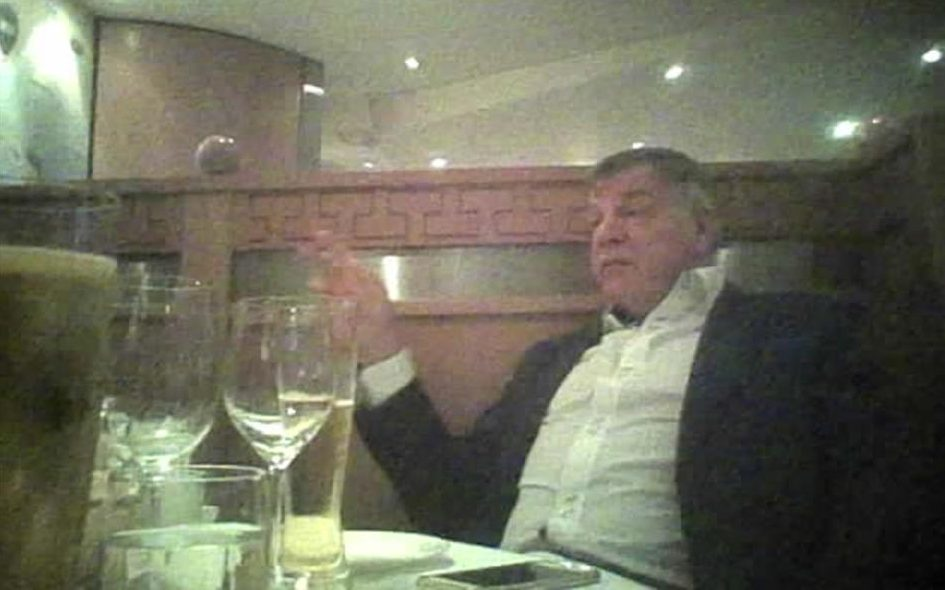 Sam Allardyce Took Money For Helping Businessmen Get Round FA Rules