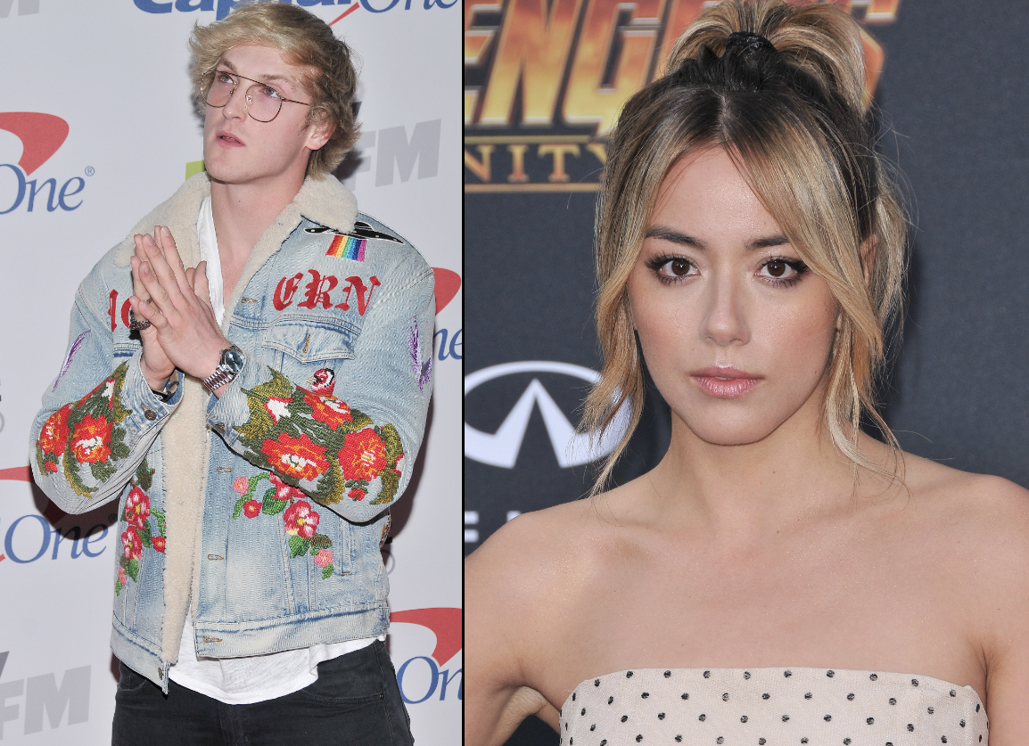 Chloe Bennet confirms she is dating YouTube star Logan Paul