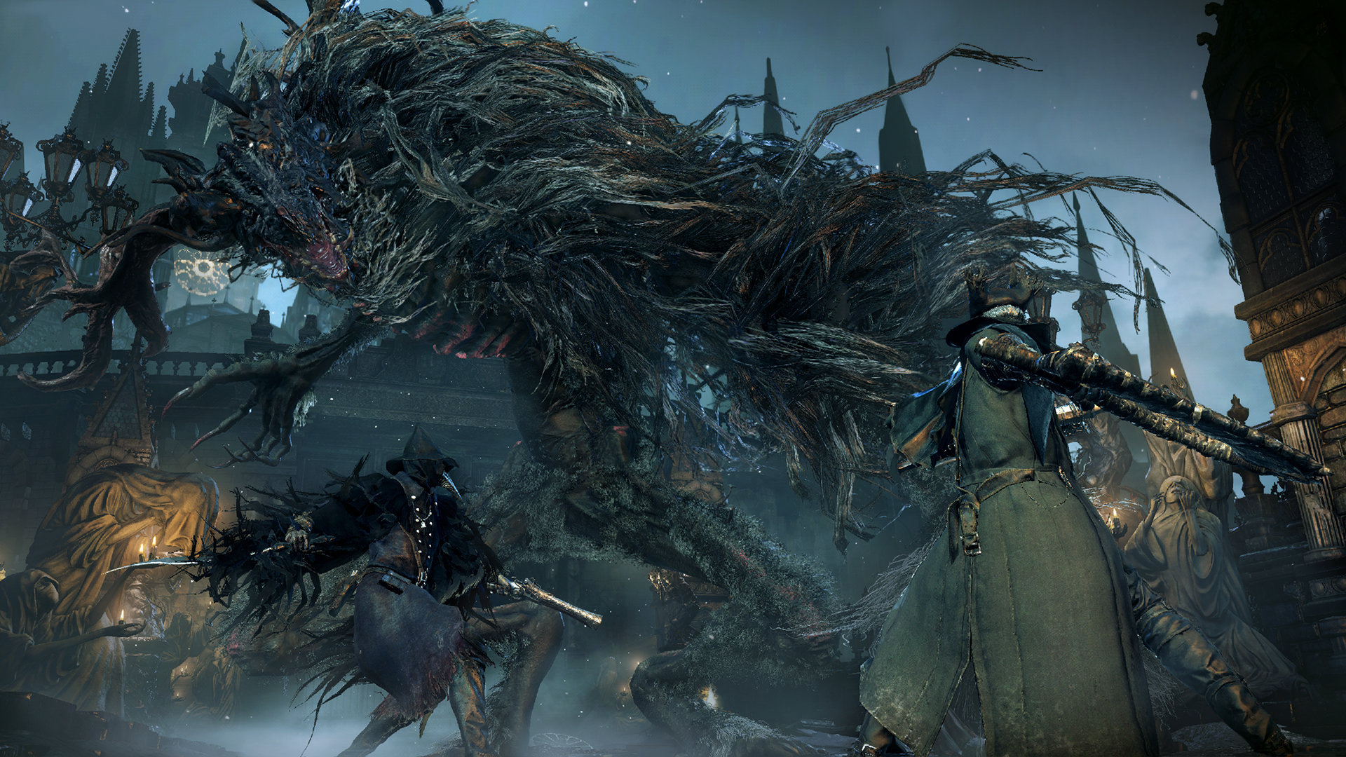Bloodborne's combat pushed you to run into fights