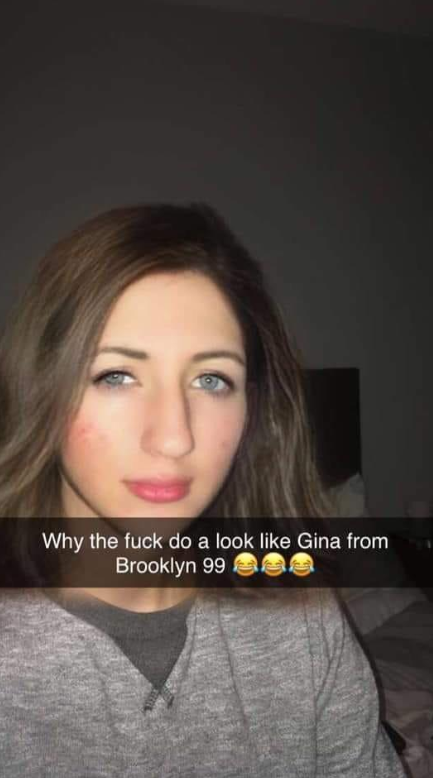 New Snapchat Filter Makes Guy Look Like Gina Linetti - LADbible