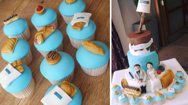 This Greggs Wedding Cake Is Perfect For Any Pasty-Loving Bride
