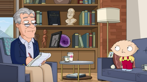 Family's Guy Stewie Has Been Faking His Voice All This Time