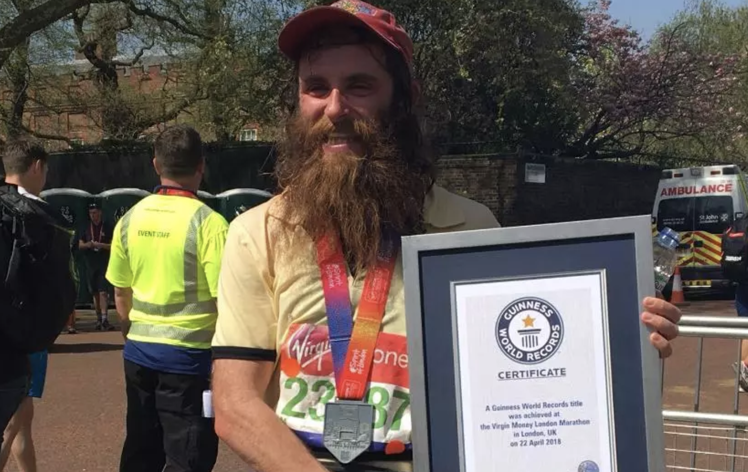 Runners vow to finish marathon for dead chef Matthew Campbell