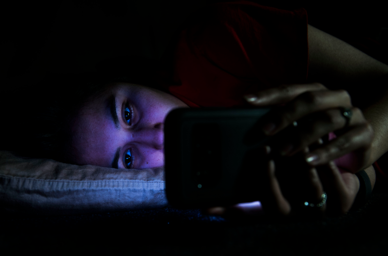 Exposure to blue light at night messes with your Circadian Rhythm aka your body clock. Credit: Flickr