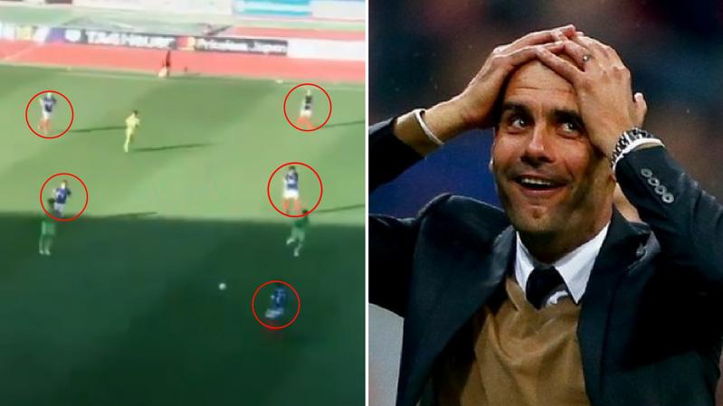 Watch: The Goal That Would Make Pep Guardiola Blush
