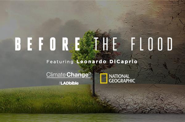 WATCH: We Live Streamed Leonardo DiCaprio's 'Before The Flood'