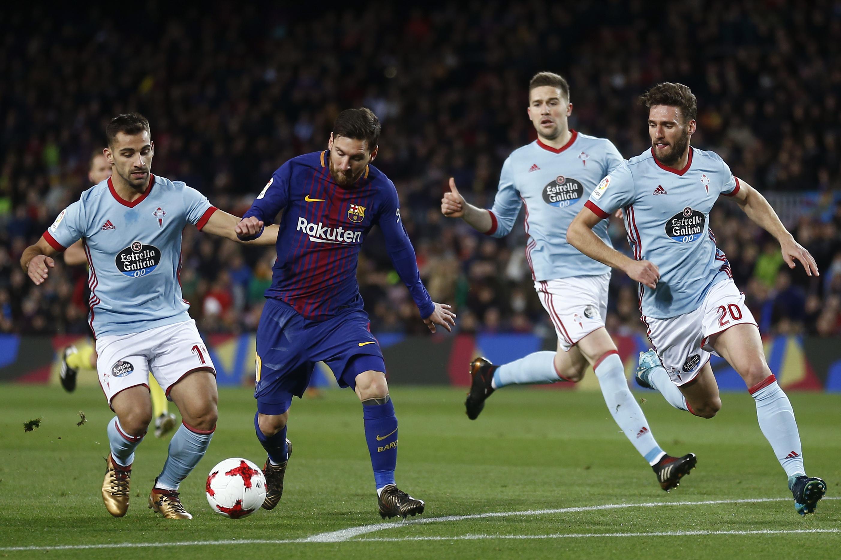 Lionel Messi brace puts FC Barcelona in Copa del Rey quarterfinals