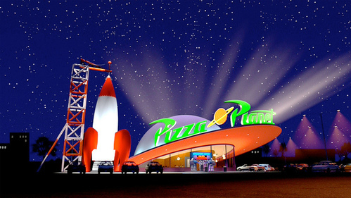 Disneyland Is Bringing 'Toy Story's Pizza Planet To Life