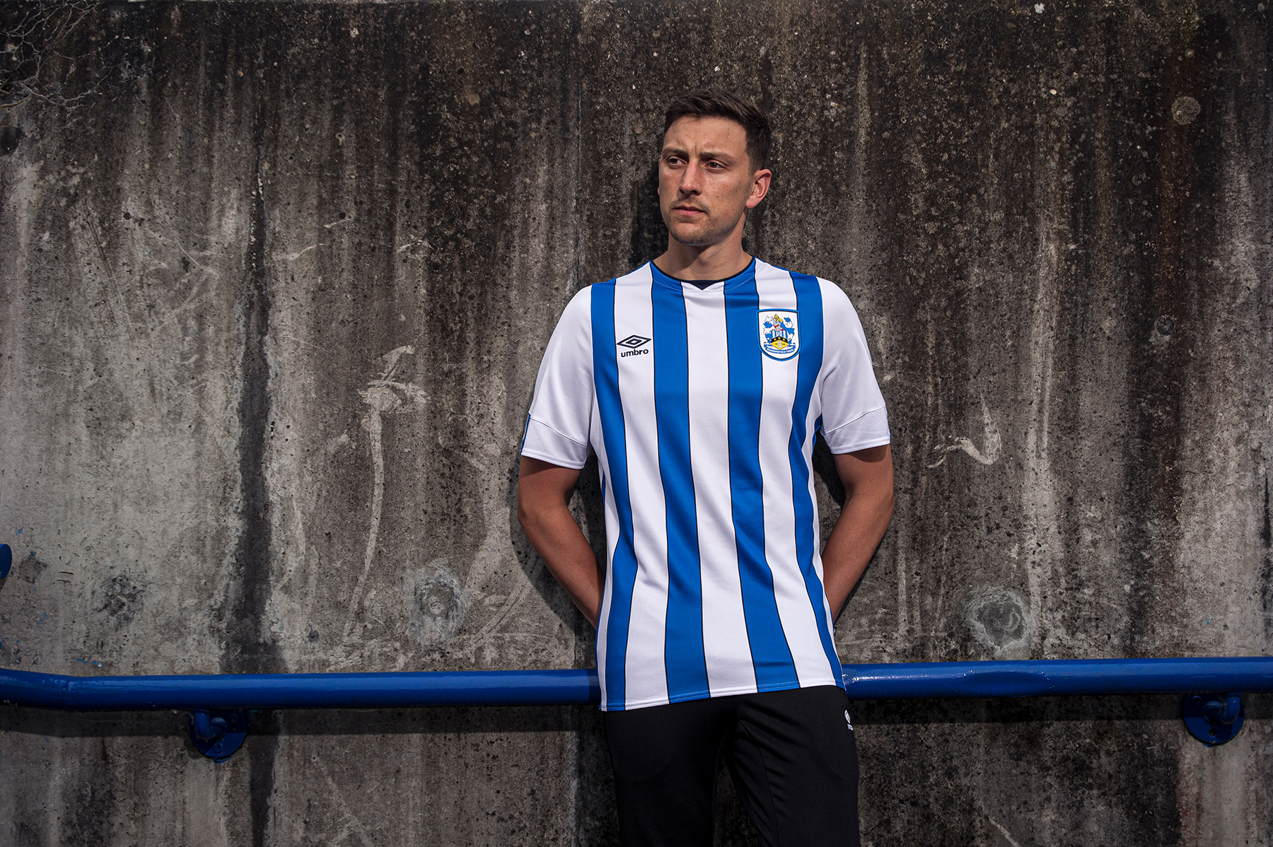 Huddersfield Town reveal their new kit - without a sponsor