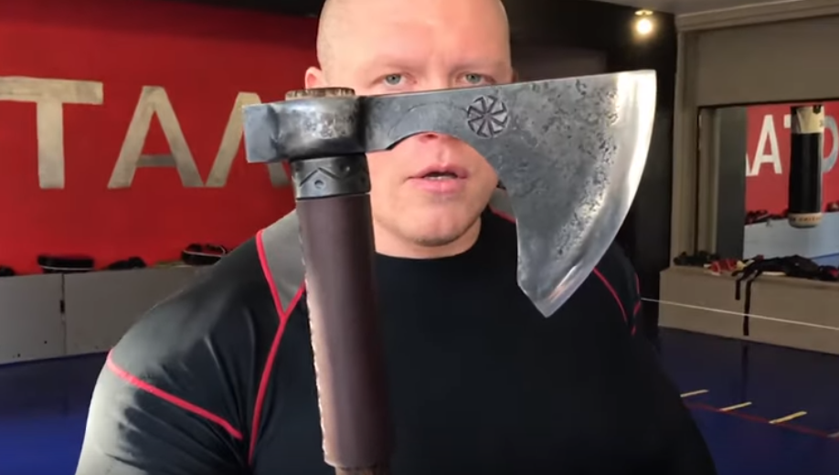 You do not want Mad Max to come at you with an axe. Credit: Caters