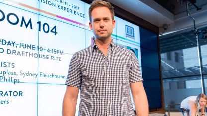 'Suits' Star Patrick J Adams Posts Cheeky Response To Meghan Markle's Engagement