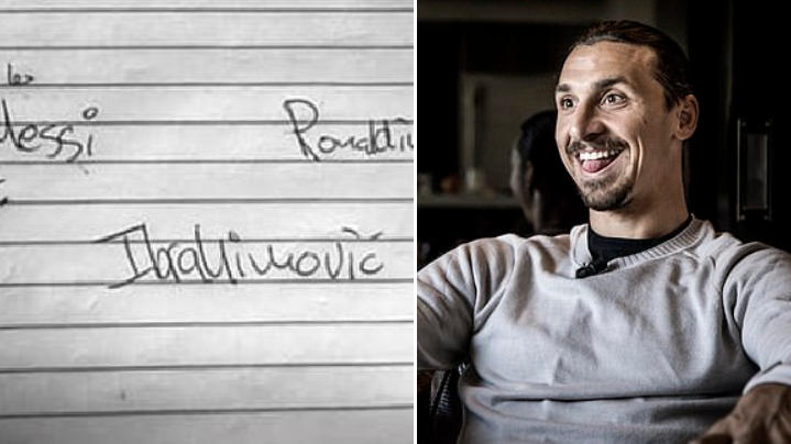 Zlatan Ibrahimovic Names His Dream XI And It's Ridiculously Good