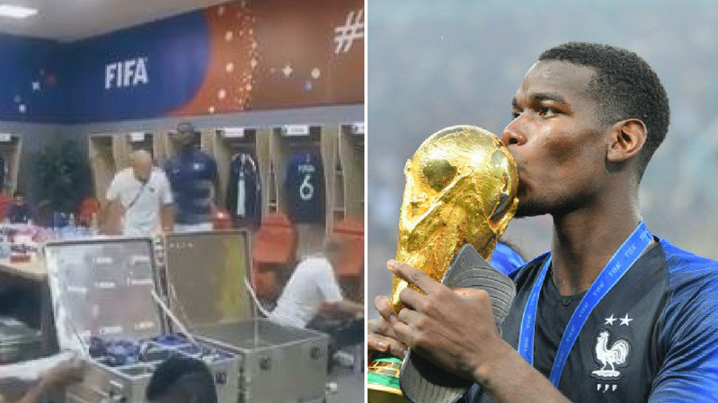 Paul Pogba's Rousing Speech To Teammates Ahead Of France's World Cup Clash Against Argentina Will Give You Goosebumps