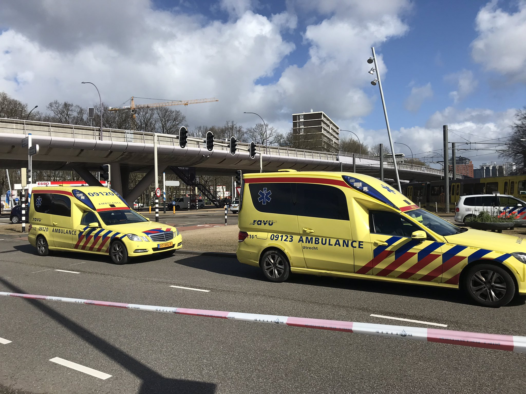 Multiple people hurt in Dutch tram shooting
