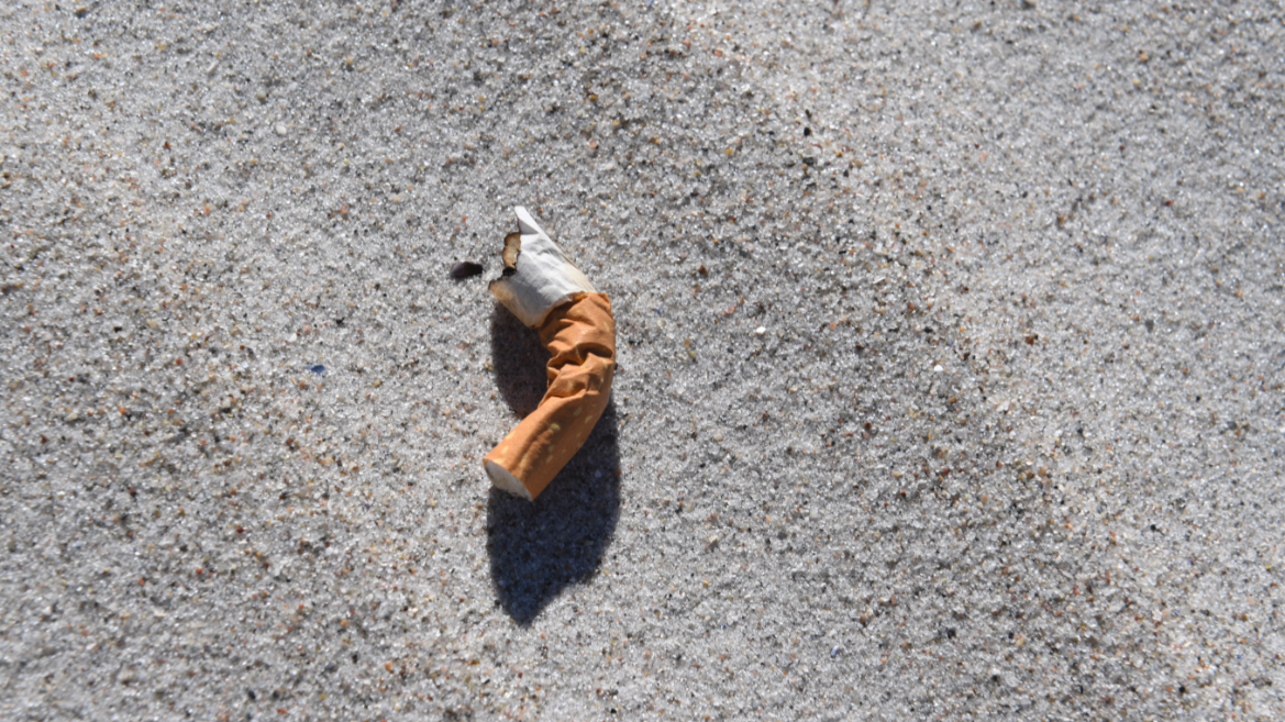 Cigarette Ends Are The Biggest Source Of Rubbish In The World's Oceans
