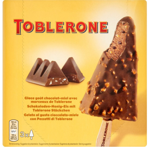 Cred: mysupermarket.co.ukhttps://www.mysupermarket.co.uk/tesco-price-comparison/Ice_Cream/Toblerone_Ice_Cream_Stick_3x100ml.html