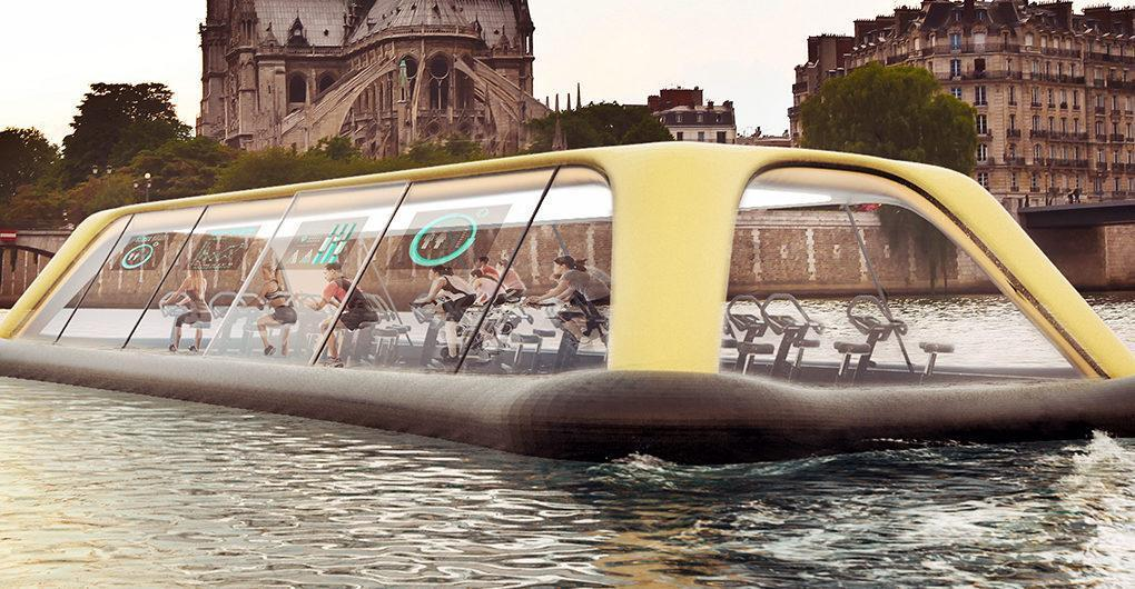 This Floating Gym Is Sick And Energy Efficient