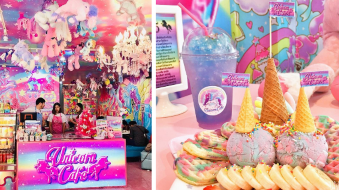 This Magical Unicorn Café In Bangkok Is The Dreamiest Place Ever