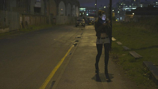 prostitute working