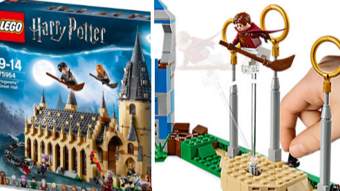 Build Your Own Lego Hogwarts Castle With The New Harry Potter Range